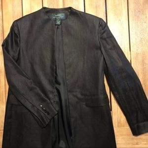 Black Ladies' Ralph Lauren Blazer Sz 8P Vintage